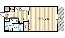 ドライバウム江坂[5階]の間取り