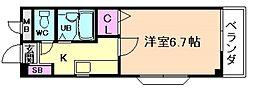 塚本TKDハウス[2階]の間取り