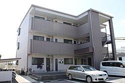 愛知県岡崎市井内町字桜井の賃貸アパートの外観