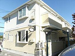 東京都八王子市大和田町2丁目の賃貸アパートの外観