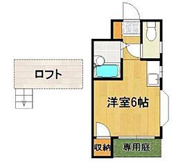 トピア21城南[2階]の間取り