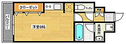 アイセレブ箱崎浪漫邸[6階]の間取り