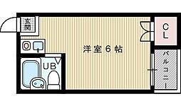 イオ・ネクスト菅原[1階]の間取り