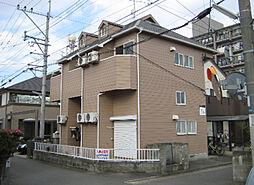 福岡県大野城市中央1丁目の賃貸アパートの外観