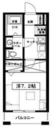 オリエンス[1階]の間取り
