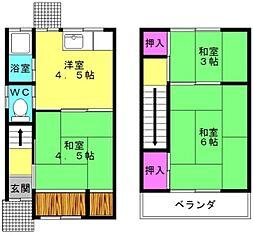[一戸建] 兵庫県明石市二見町東二見 の賃貸【/】の間取り