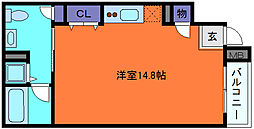 スリージェ弐番館[1階]の間取り