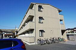 栃木県小山市三峯1丁目の賃貸アパートの外観