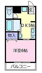コーラルコート[2階]の間取り