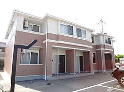 滋賀県東近江市札の辻2丁目の賃貸アパートの外観