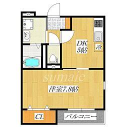 アバンヴィータ[2階]の間取り
