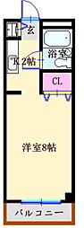 パークアヴェニュー[2階]の間取り