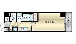 アドバンス新大阪CityLife[2階]の間取り