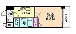 フォレステージ福島[2階]の間取り