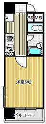 アーバンステージ上野[4階]の間取り