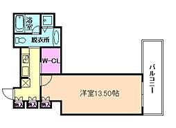 ザ・タワー大阪レジデンス[4階]の間取り