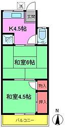 槙荘[1-2号室]の間取り