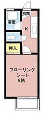 シャンブレール中須I[203号室]の間取り
