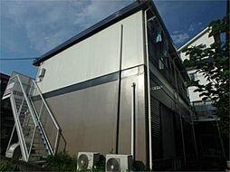 東京都日野市程久保2丁目の賃貸アパートの外観