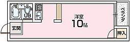 コンフォート津田[3階]の間取り