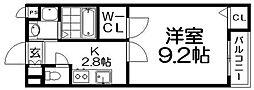 アルトベルクII[1階]の間取り