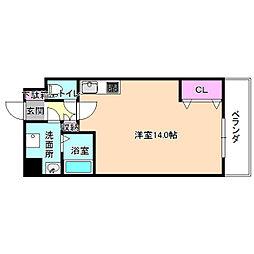 ラ・ヴィータローザ松栄[2階]の間取り