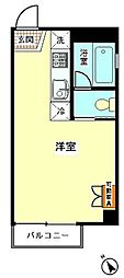 3Dアパートメント[301号室]の間取り