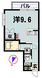 コンソナンス東麻布[1階]の間取り