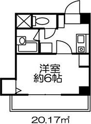 ドミール原宿[403号室]の間取り