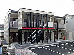 愛知県豊田市栄町5丁目の賃貸アパートの外観