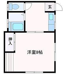 関谷荘[1階]の間取り