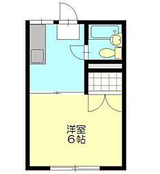 エステートピアホッタ[2階]の間取り