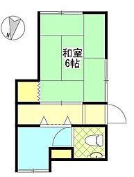 三栄荘[1階]の間取り