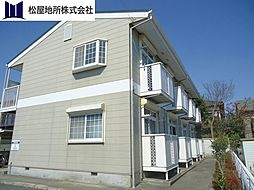 愛知県豊橋市北島町字北島の賃貸アパートの外観