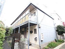コーポYAHAGI[2階]の外観