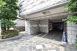 東京都新宿区箪笥町の賃貸マンションの外観