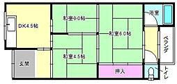 [テラスハウス] 大阪府枚方市招提平野町 の賃貸【/】の間取り