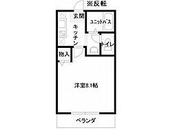 フルール99[2階]の間取り