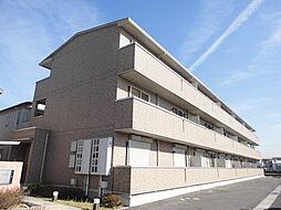 滋賀県栗東市綣10丁目の賃貸アパートの外観