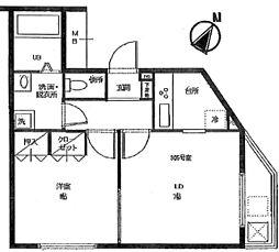 セイコーガーデン5[3階]の間取り