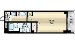 エステムコート新大阪Xザ・ゲート[6階]の間取り