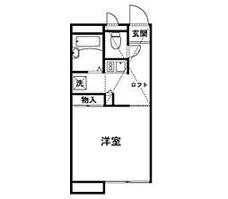 カルム・メゾン柳瀬[2階]の間取り