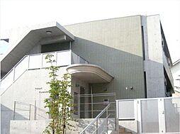 神奈川県横浜市青葉区柿の木台の賃貸マンションの外観