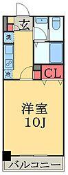 千葉県千葉市中央区今井3丁目の賃貸マンションの間取り