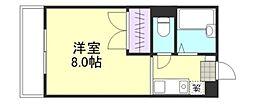 コンフォルト福井[2階]の間取り