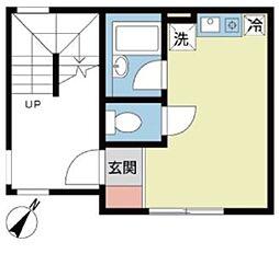 Duet上野[1階]の間取り