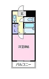 ヒサティ松原[2階]の間取り