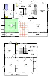 [一戸建] 宮城県明石台5丁目 の賃貸【/】の間取り