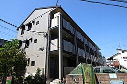 神奈川県川崎市多摩区菅城下の賃貸アパートの外観