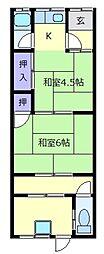 [テラスハウス] 大阪府松原市東新町1丁目 の賃貸【/】の間取り